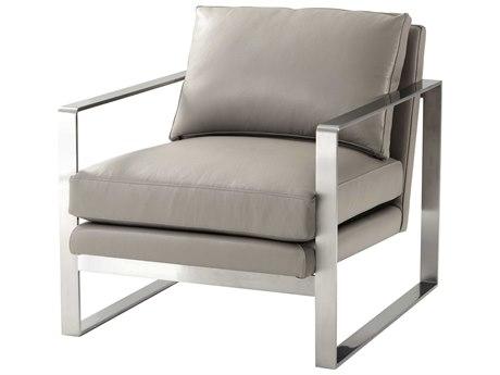 Theodore Alexander Brushed Nickel Accent Chair TALTAS420040AVQ