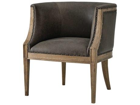 Theodore Alexander Light Echo Oak Accent Chair TALCB420052ARC