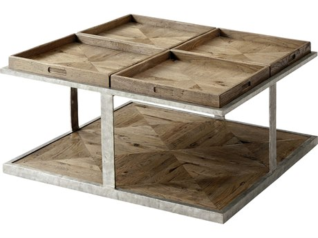 Theodore Alexander Echo Oak 36'' Wide Square Coffee Table TALCB51031C062