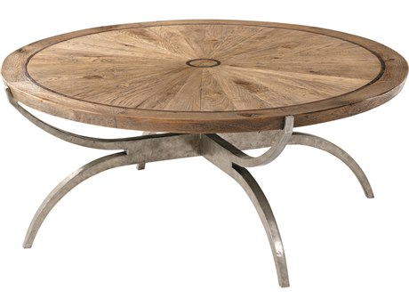 Theodore Alexander Echo Oak 45'' Wide Round Coffee Table