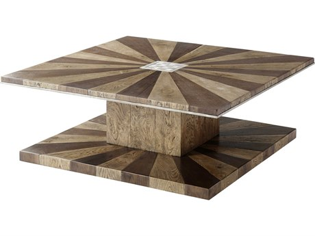 Theodore Alexander Echo Oak 47'' Wide Square Coffee Table TALCB51037C062