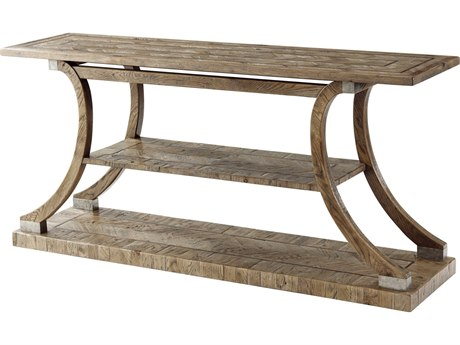 Theodore Alexander Echo Oak 68'' Wide Rectangular Console Table