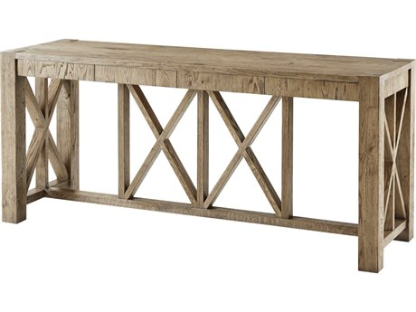 Theodore Alexander Echo Oak 80'' Wide Rectangular Console Table