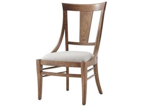 Theodore Alexander Echo Oak Side Dining Chair