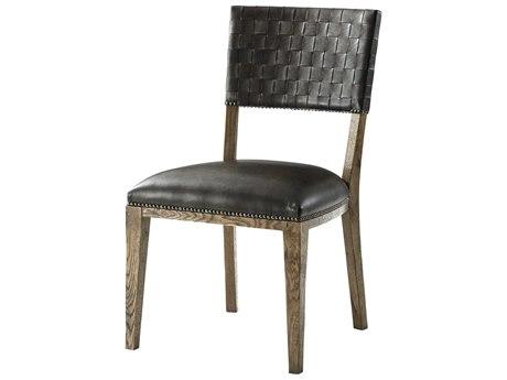 Theodore Alexander Echo Oak Side Dining Chair TALCB400252ARD