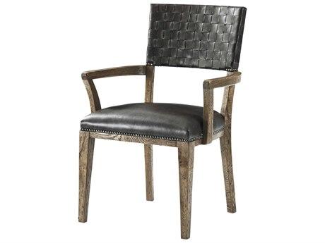 Theodore Alexander Echo Oak Arm Dining Chair TALCB410252ARD