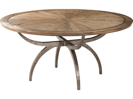 Theodore Alexander Echo Oak 64'' Wide Round Dining Table