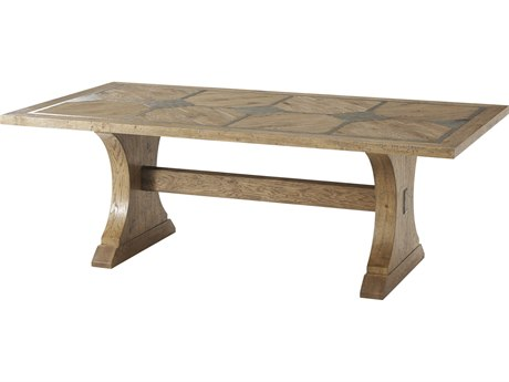 Theodore Alexander Echo Oak 86'' Wide Rectangular Dining Table