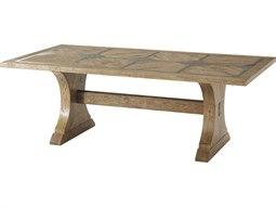 Echo Oak 86'' Wide Rectangular Dining Table