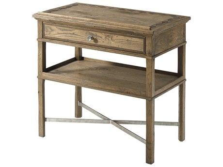 Theodore Alexander Echo Oak 28'' Wide Rectangular End Table TALCB50047C062