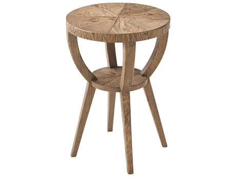 Theodore Alexander Echo Oak 14'' Wide Square End Table