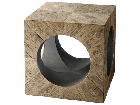 Theodore Alexander Echo Oak 21'' Wide Square End Table TALCB50052C062