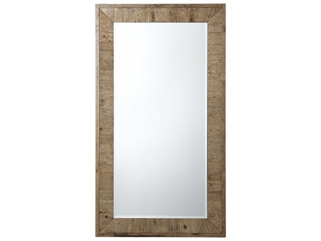 Theodore Alexander Echo Oak Floor Mirror