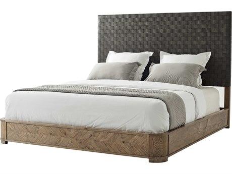 Theodore Alexander Echo Oak California King Platform Bed TALCB84005C062