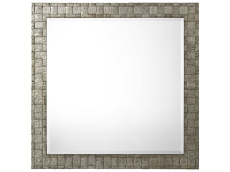 Theodore Alexander Vintage Silver Wall Mirror