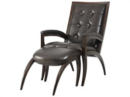 Mahogany Accent Chair