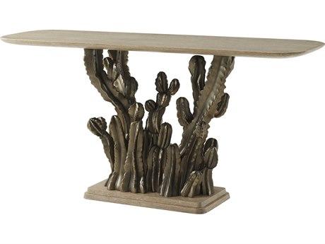 Theodore Alexander Sandalwood / Soleil Bronze 72'' Wide Rectangular Console Table TALMB53005