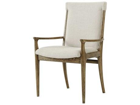 Theodore Alexander Oak Arm Dining Chair TALMB10081AQG