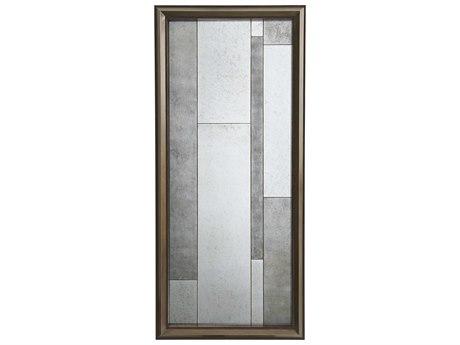 Theodore Alexander Sable / Bronze Antique Mirror Floor