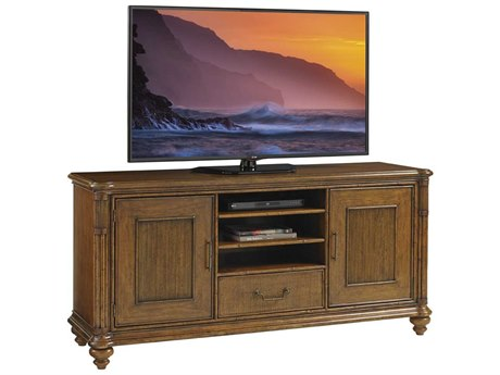 Tommy Bahama Bali Hai 74'' x 22'' Pelican Cay Media Console TV Stand TO593908