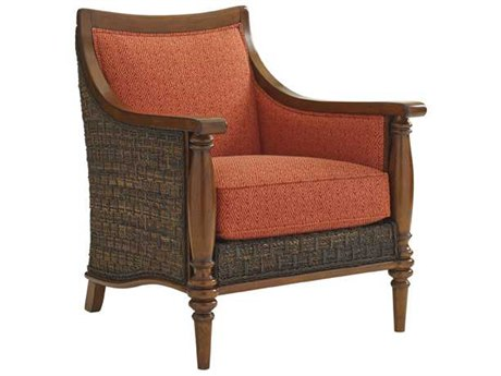 Tommy Bahama Bali Hai Agave Back Wicker Chair To169511