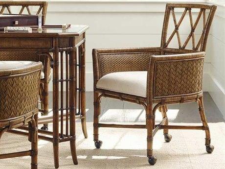 Tommy Bahama Bali Hai 25.25'' x 24'' Tarpon Cove Game Arm Chair TO593972