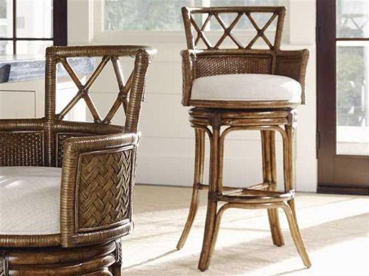 Surprising Tommy Bahama Bali Hai Kamala Bay Swivel Bar Stool Ncnpc Chair Design For Home Ncnpcorg