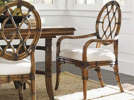 Tommy Bahama Bali Hai 25.5'' Cedar Key Oval Back  Arm Chair TO593887