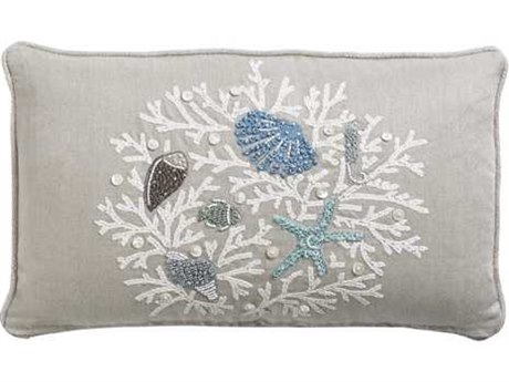 Tommy Bahama Bali Hai Bali Hai Lux Down Kidney Pillow TO101421