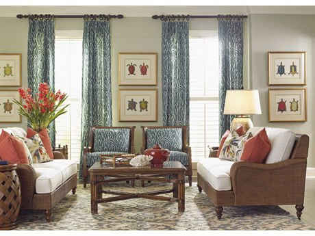 Tommy Bahama Bali Hai Living Room Set TO17743311947SET