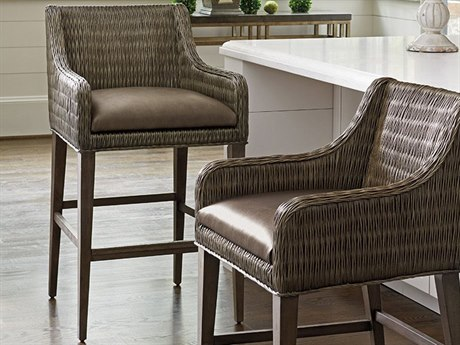 Tommy Bahama Cypress Point Turner Woven Bar Stool (Quick Ship)