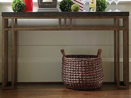 Tommy Bahama Cypress Point 54'' x 14'' Rectangular Montera Travertine Console Table