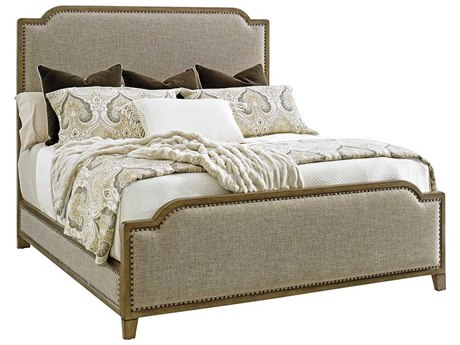 Tommy Bahama Cypress Point Stone Harbour Queen Upholstered Panel Bed
