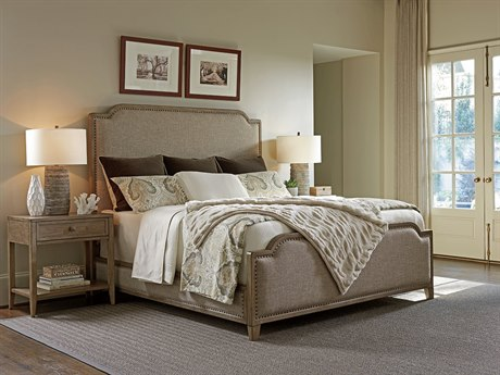 Tommy Bahama Cypress Point Stone Harbour California King Upholstered Panel Bed