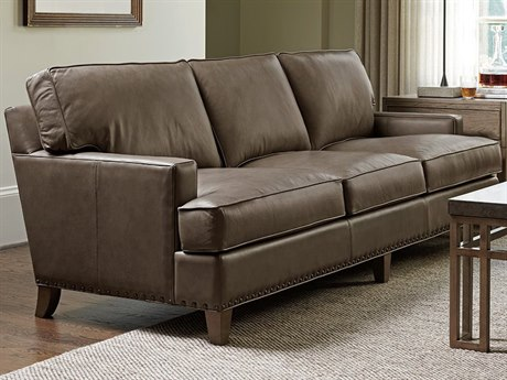 Tommy Bahama Cypress Point Hughes Leather Sofa (Quick Ship)