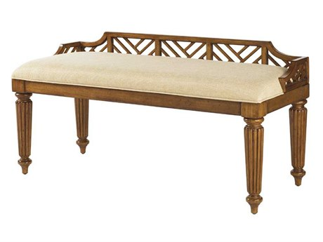 Tommy Bahama Island Estate Plantain Accent Bench