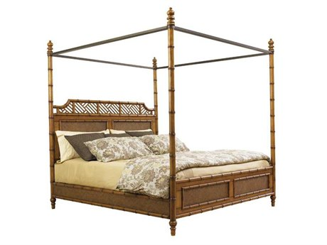 Tommy Bahama Island Estate West Indies Queen Poster Bed