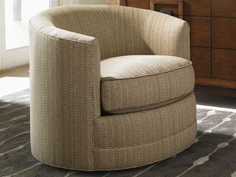 Tommy Bahama Island Fusion Tight Back Kava Swivel Arm Chair TO731011SW