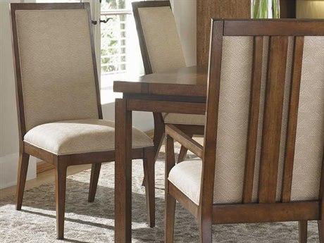 Tommy Bahama Island Fusion Natori Slat Back Sebana Dining Side Chair TO55688001