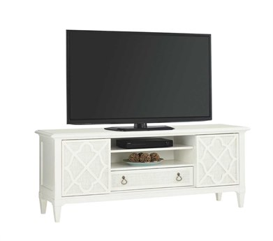 Tommy Bahama Ivory Key Warf Street 72 x 20 Entertainment Console