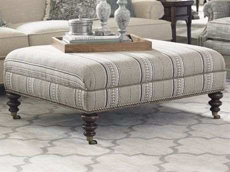 Tommy Bahama Kingstown Cooper Cocktail Ottoman TO713544