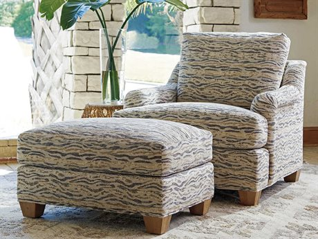 Tommy Bahama Los Atlos Chair and Ottoman Set TO0118421140SET