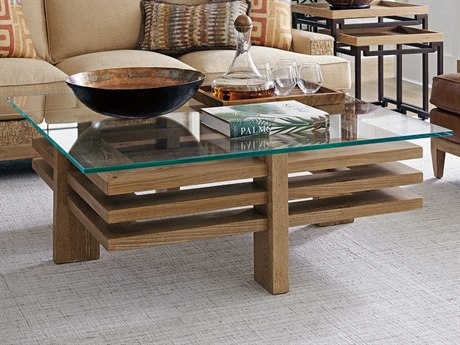Tommy Bahama Los Atlos 48'' Wide Square Coffee Table
