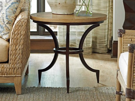 Tommy Bahama Los Atlos 26'' Wide Round End Table