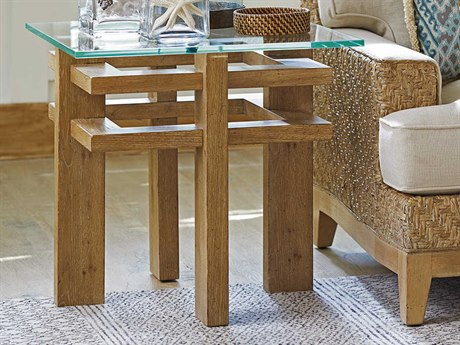Tommy Bahama Los Atlos 25'' Wide Square End Table