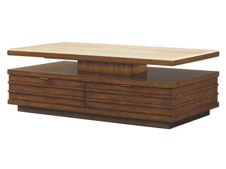 Tommy Bahama Ocean Club 54 x 28 Rectangular Solstice Cocktail Table TO010536953C