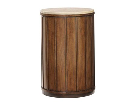 Tommy Bahama Ocean Club 18 Round Fiji Drum Table TO010536950C