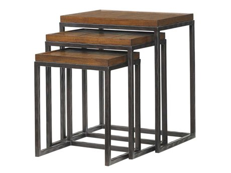 Tommy Bahama Ocean Club 22 x 16 Rectangular Ocean Reef Nesting Tables TO010536942