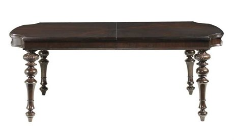 Tommy Bahama Royal Kahala 80 x 47.25 Rectangular Islands Edge Dining Table