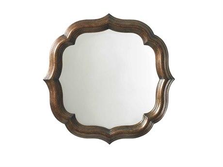 Tommy Bahama Royal Kahala 38 Round Lotus Blossom Mirror TO010538201